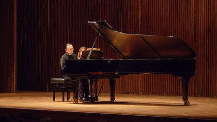 Pierre-Laurent Aimard plays Beethoven and Charles Ives at Aldeburgh Festival 2018 Photo: Matt Jolly,