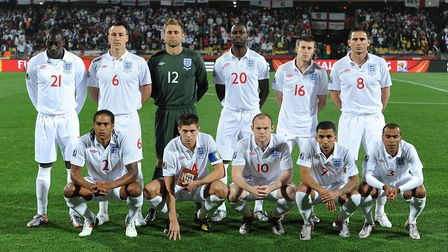 Can you match the England kit to the correct World Cup tournament? Photo: Owen Humphreys / PA