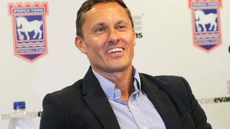 Paul Hurst officially started work as Ipswich Town manager last Monday. Photo: Steve Waller