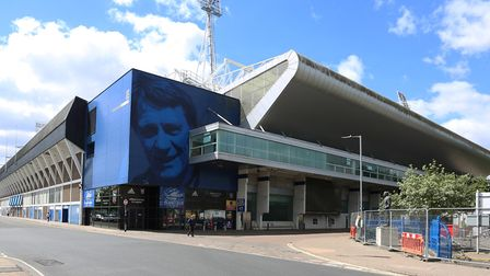 The iconic home of Ipswich Town Football Club. Picture: MICK WEBB