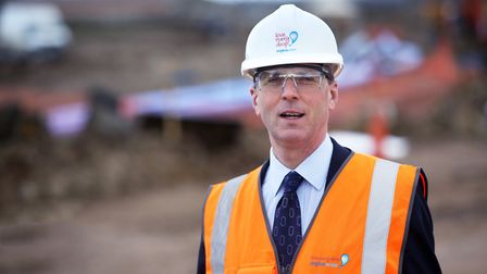 Anglian Water chief executive Peter Simpson Picture: TIM GEORGE