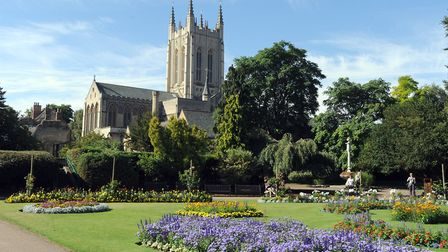 Suffolk Armed Forces Day will take place in the Abbey Gardens Picture: PHIL MORLEY