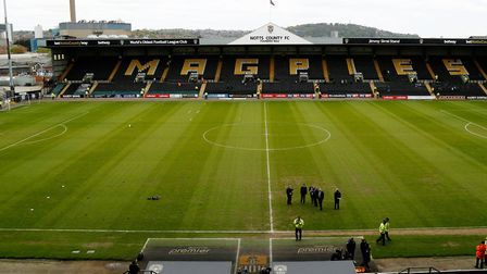 Notts County's Meadow Lane, which the U's will visit on the opening day of next season.