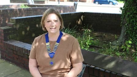 Nicola Booth, East Anglia Regional Chair of the Chartered Institute of Building Services Engineers (