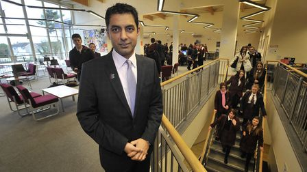 Nardeep Sharma, who was suspended from the Thrive Academy Trust in March Picture: ANDREW PARTRIDGE