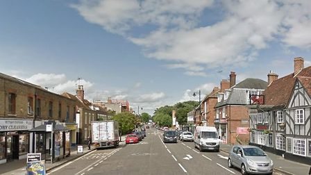 The attack is alleged to have taken place in Witham's high street Picture: GOOGLE MAPS