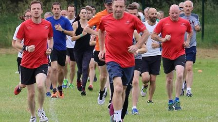 Runners tackled a flat course, from Great Cornard Sports Centre. Picture: GREAT CORNARD PARKRUN FACE