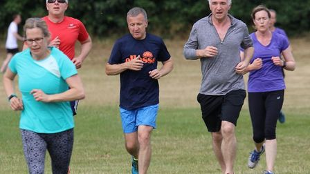 A field of 140 runners, joggers and walkers took part in the latest Great Cornard parkrun. Picture: