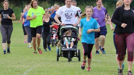 Runners of all ages took part in the 227th staging of the Great Cornard parkrun. Picture: GREAT CORN