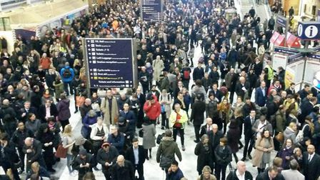 Train services are back to normal this week after problems caused by a track fault on the approach t