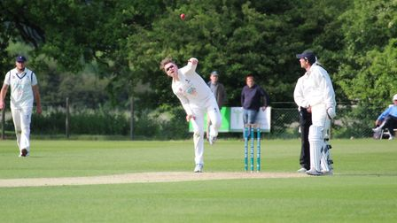 Jack Beaumont, who followed up figures of three for 63 with a superb 103 not out in Copdock & OI's w