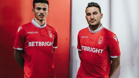 Nottingham Forest's new Portuguese duo Diogo Goncalves and Joao Carvalho. Photo: Nottingham Forest F