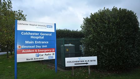 Colchester Hospital has hit A&E waiting time targets for the third month in a row Picture: SARAH LUC