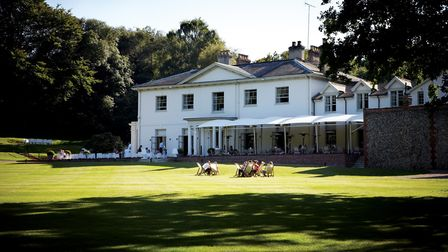 A view across the lawns to Kesgrave Hall. Picture contributed