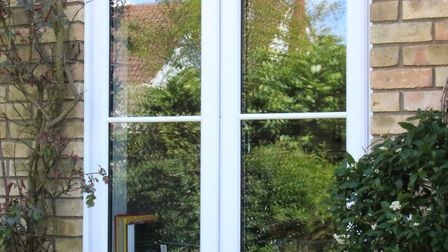 A finished window. Picture frames conservatories direct