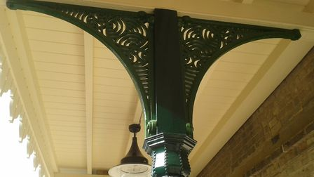 The station's elegant spandrels were given a new lease of life in the revamp Picture: STATION HOUSE