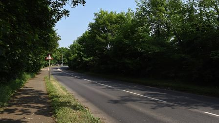 Two people died in a fatal road traffic collision on Exning Road in Newmarket Picture: SARAH LUCY B