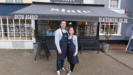 Slate cheese shop in Aldeburgh has been shortlisted for an award. Picture: GREGG BROWN