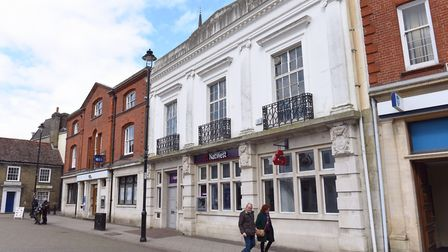 The site of the former NatWest bank in Stowmarket Picture: SARAH LUCY BROWN