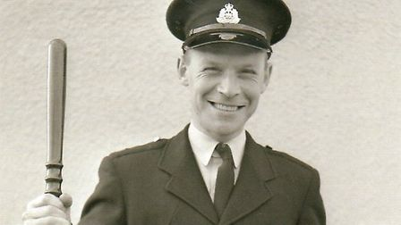 Denis Nichols was a Special Constable at Saxmundham Police Station in the 1960s Picture: DENIS NICHO