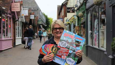 Nikki Bowdidge is ready for the treasure hunt Picture: CAROLINE TILLEY