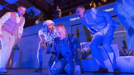 To See The Invisible, a new opera, is premiered at the Aldeburgh Festival, Nicholas Morris as The In