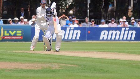 Adam Wheater was the stand-out batsman for Essex. Picture: ARCHANT
