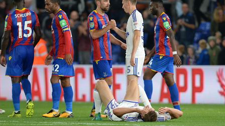 The youngest team in Ipswich Town history lost to Crystal Palace in the Carabao Cup second round las