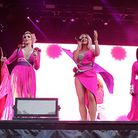 Steps performed many of their well known hits at Colchester's Castle Park Picture: SEANA HUGHES