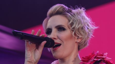 One of Steps' leading ladies, Claire Richards Picture: SEANA HUGHES