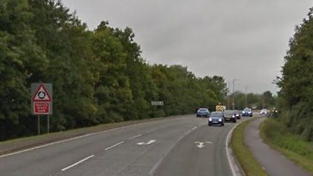 A motorcyclist has died following a crash in Soham Picture: GOOGLE MAPS