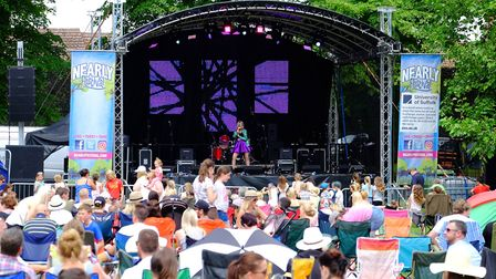 The Nearly Festival held in the Abbey Garden in Bury St Edmunds. Picture : RICHARD MARSHAM/RMG PHOTO