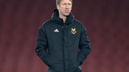 Ipswich host Graham Potter's Swansea in April. Picture: PA