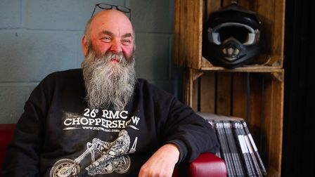 Stills from film-maker Max Downie's documentary about So Low Choppers, a custom motorcycle workshop