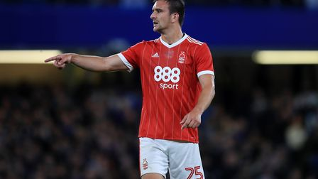 Jack Hobbs is set to be a free agent after two injury-hit years at Nottingham Forest. Photo: PA