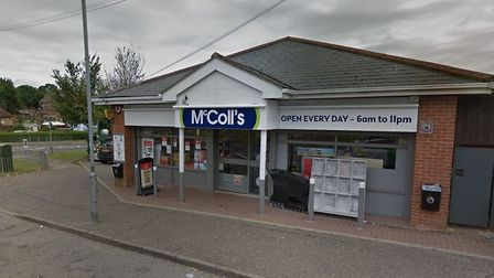 Police are appealing for witnesses after a man armed with a knife attempted to rob McColls in Panfie