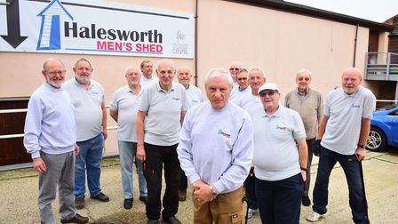 Halesworth Men's Shed opened in 2015. Picture: Nick Butcher