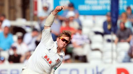 Essex's Simon Harmer has been impressing Don Topley. Picture: PA SPORT