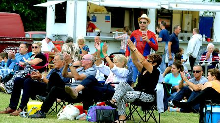 Visitors enjoying the music at the 10th anniversary of StowFiesta last year PICTURE ANDY ABBOTT
