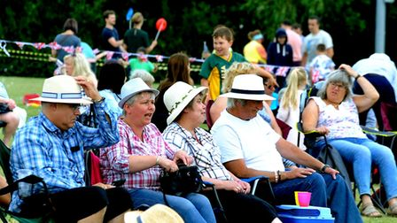 Festival-goers at the 10th anniversary of StowFiesta last year PICTURE ANDY ABBOTT