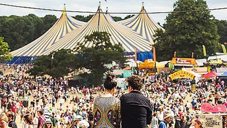 Latitude festival, which is introducing a reusable bottle initiative Picture: Victor Frankowski