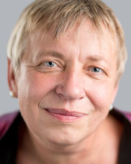 Woodbridge county councillor Caroline Page. Picture: TOBY MONAGHAN-GRAY
