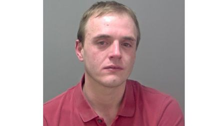 Lisle Mowles, jailed for 16 months for unlawful wounding. Picture: SUFFOLK CONSTABULARY