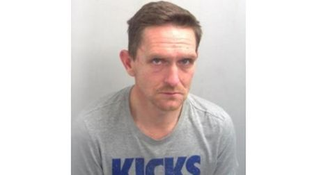 John Murton, who has been jailed for almost four years for burglary. Picture: SUFFOLK POLICE