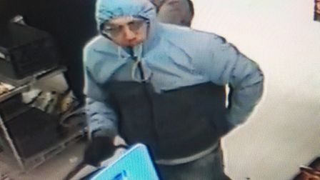 Police are keen to speak to this man in connection with an assault and incident of theft at Pakefiel