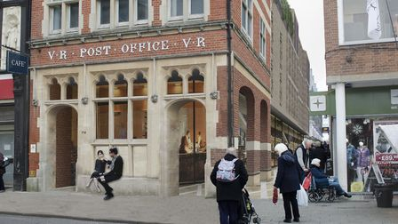 How the former post office building in Bury St Edmunds town centre could look Picture: ST EDMUNDSBUR