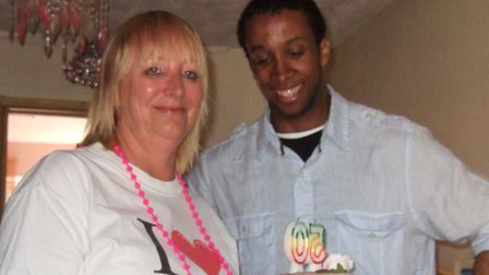 Ben with his mum Sue Picture: SUPPLIED BY FAMILY