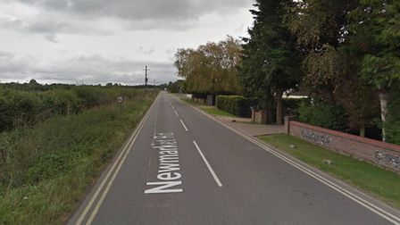 The accident happened on Newmarket Road in Risby Picture: GOOGLE MAPS