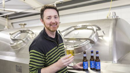 Adnams head brewer Fergus Fitzgerald will be hosting a tour for Suffolk Day Picture: SARAH GROVES