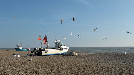 A visit to Aldeburgh beach is a popular Suffolk Day recommendation Picture: SARAH LUCY BROWN